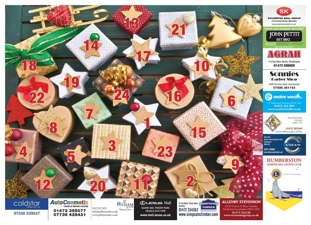 Humberston Lions Advent Calendar